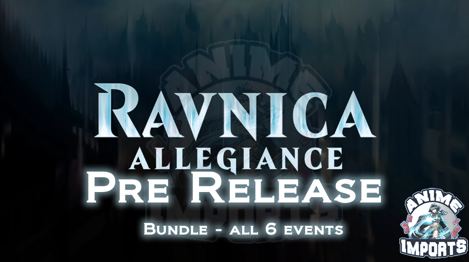 Ravnica Allegiance Prerelease - All 6 (Bundle)