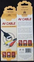 Acc: AV Composite Cables Dreamcast (Tomee)