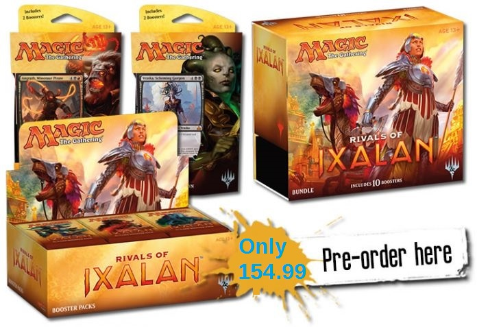 Rivals of Ixalan Preorder Special