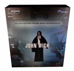 John Wick Deluxe Action Figure with Accessories (Black Shirt)