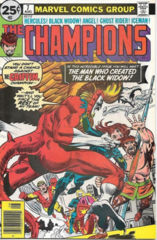Champions 7 The Man Who Created The Black Widow