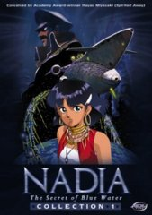 Nadia, The Secret of Blue Water: Collection 1 - Volumes 1-5