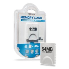 Memory Card for Wii and GameCube 64MB- Tomee
