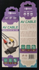 AV Cable SNES, N64 & Gamecube (RCA Cable)