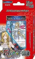 Alice Cluster Starter Deck - Valentina, the Princess of Love