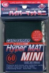 KMC Mini Sized Hyper Matte Green Sleeves 60 CT