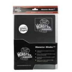 9 Pocket Monster Binder - Matte Black with White pages