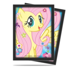My little pony yugioh sleeves fluttershy