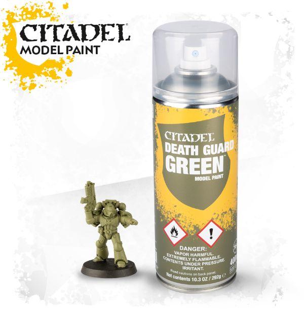 CITADEL DEATH GUARD GREEN SPRAY 62-32