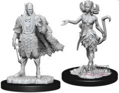 Dungeons & Dragons Nolzur`s Marvelous Unpainted Miniatures: W15 Autumn Eladrin & Summer Eladrin
