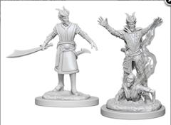 Dungeons & Dragons Nolzur`s Marvelous Unpainted Miniatures: W6 Male Tiefling Warlock