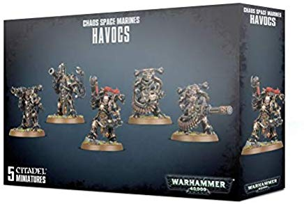Chaos Space Marines Havocs 43-61
