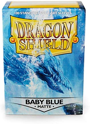 Dragon Shield Baby Blue Matte