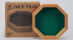 10 Inch Wood Dice Tray