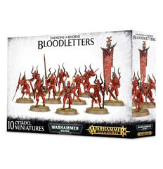 Daemons of Khorne Bloodletters 97-08