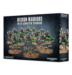 Necron Warriors with Canoptek Scarabs 49-06