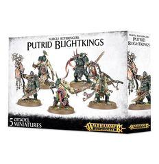 Nurgle Rotbringers Putrid Blightkings 83-28