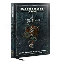 WARHAMMER 40000 RULEBOOK (ENGLISH) 8th Edition 40-02-60
