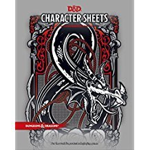 D&D Charater sheets
