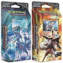 TCG Sun & Moon Burning Shadows Theme Decks - Ninetales & Lycanroc