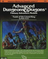 AD&D: Tomb of the Lizard King Module