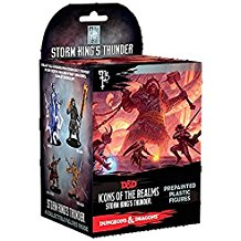 Dungeons & Dragons Fantasy Miniatures: Icons of the Realms Set 5 Storm King`s Thunder Standard Booster