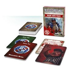 Blood Bowl Team Card Pack – Human