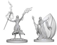 D&D Nolzur's Marvelous unpainted minis: Elf Wizard