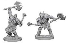 D&D Nolzur's Marvelous unpainted minis: Half Orc Male Barbarian