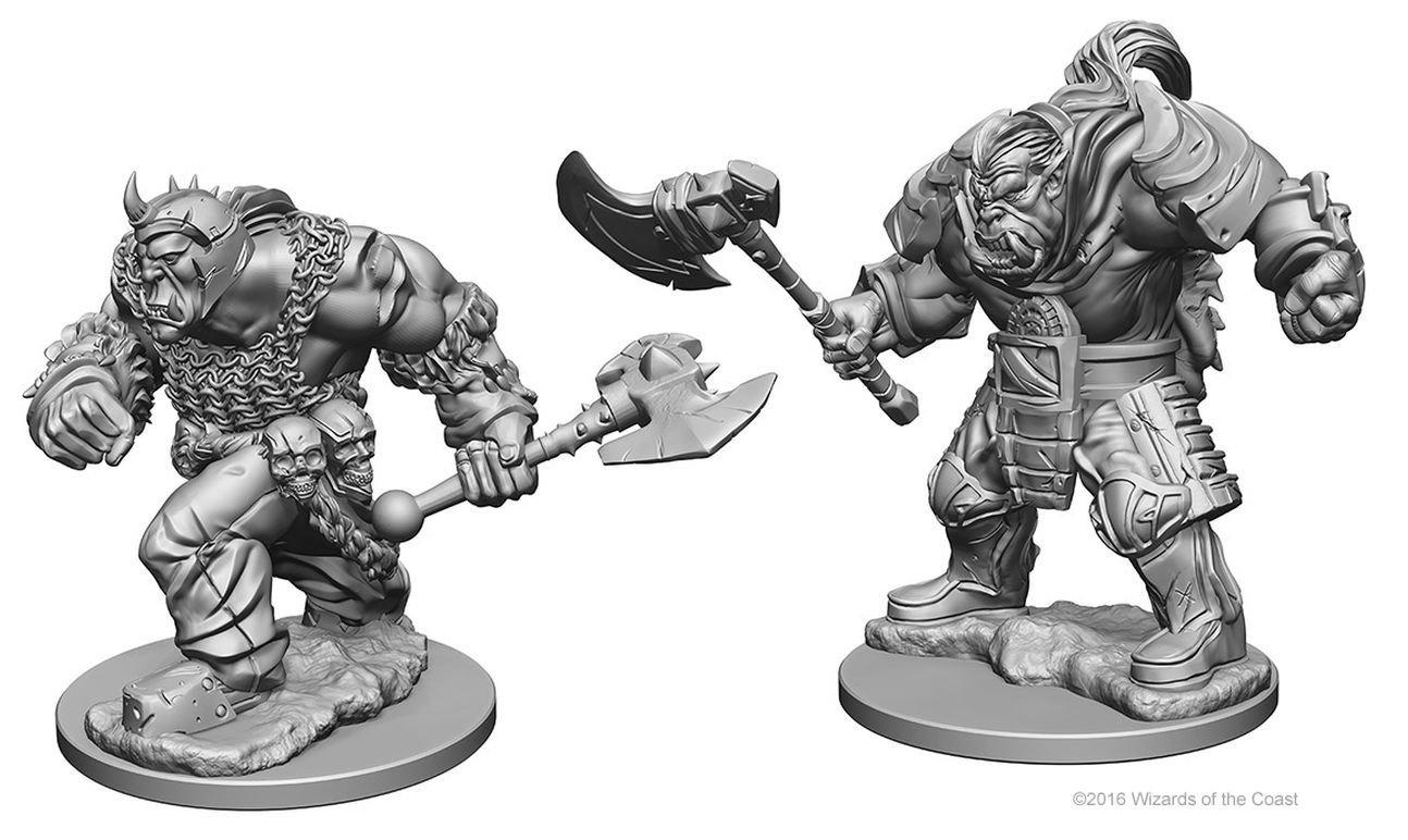 D/&D Nolzurs Marvelous Unpainted Minis Orcs New