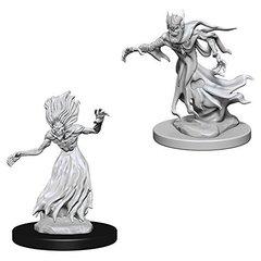 D&D Nolzur's Marvelous unpainted minis: Wraith & Specter