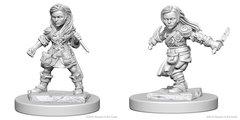 Dungeons & Dragons Nolzur`s Marvelous Unpainted Miniatures: W1 Halfling Female Rogue