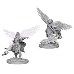 Dungeons & Dragons Nolzur`s Marvelous Unpainted Miniatures: W4 Aasimar Female Wizard