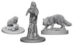 Pathfinder Deep Cuts Unpainted Miniatures: W1 Familiars