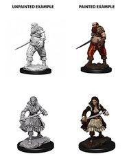 WizKids Deep Cuts Unpainted Miniatures: Pirates