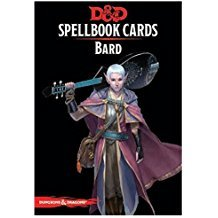 Spellbook Cards: Bard Deck
