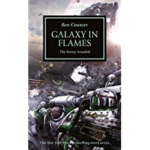 Galaxy in Flames