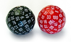 Misc Die D100 Assorted Colors