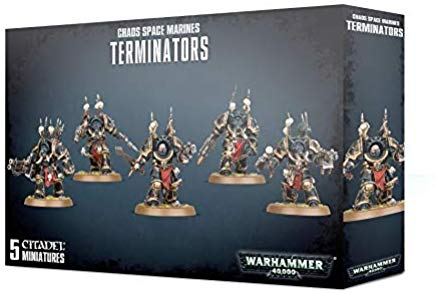Chaos Space Marines Terminators 43-19