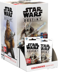 Star Wars Destiny: Convergence Booster Pack Display