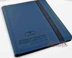 Ultimate Guard FlexXfolio Xenoskin - 9 Pocket - Blue