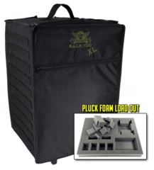 P.A.C.K. 1520XL Molle Pluck Foam Load Out (Black)