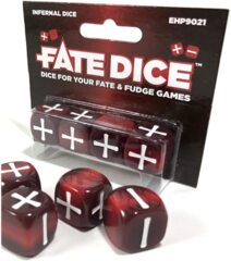 Fate Core RPG: Fate Dice - Infernal