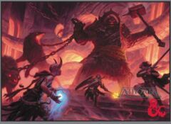 Dungeons & Dragons: Fire Giant Standard Sized Deck Protector Sleeves (50)