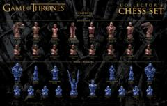Game of Thrones Collector's Chess Set | Collectible 32 Custom Sculpt Chess Pieces