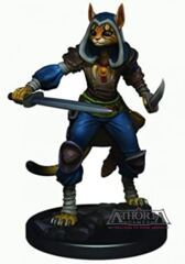 Dungeons & Dragons Fantasy Miniatures: Icons of the Realms Premium Figures W3 Female Tabaxi Rogue