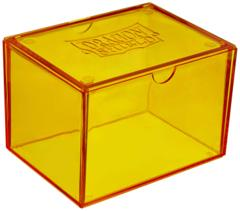 Dragon Shield Card Gaming Box, Yellow