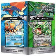Battle Arena Decks: Keldeo EX vs Rayquaza EX