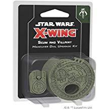 Star Wars - X-wing: Scum and Villainy Maneuver Dial Upgrade Kit