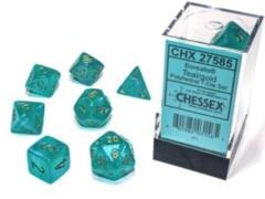 CHX 27585 Borealis Teal/Gold Glow in the Dark